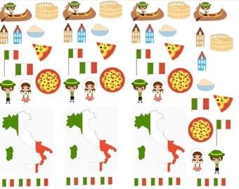 Italy Italian Planner Stickers