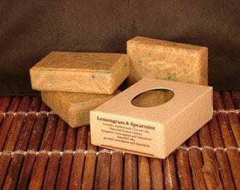 Lemongrass & Spearmint Handcrafted Soap