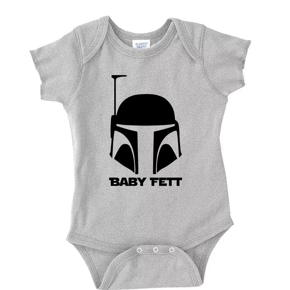 Baby Fett Boba Fett Star Wars Onesie Baby Onesie Star Wars