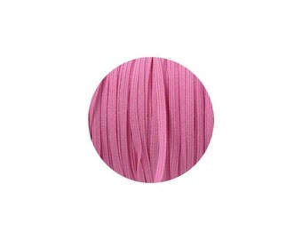 3mm Medium Pink Skinny Headband Elastic - 5 Metres