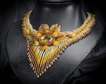 "handmade necklace ""Autumn"""