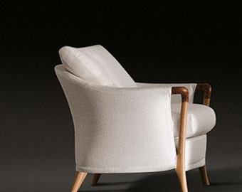 Pair of armchairs Giorgetti Progetti