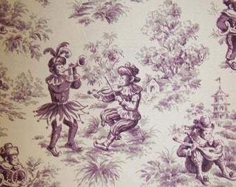 Fabric by the Yard Upholstery Fabric Chinoiserie fabric
