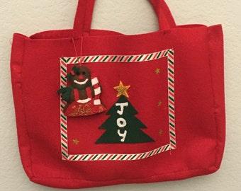 Fancy Felt christmas bag
