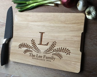 Custom chopping board, personalised cutting board, Christmas gift, custom cutting board, Christmas gift, house warming gift or foodie gift