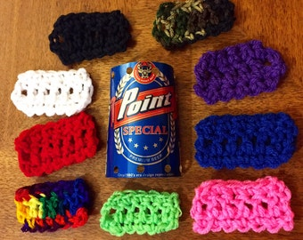 Beercan hat -your choice of color & beer! Free shipping!