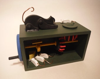 Cat and Mouse automaton kit