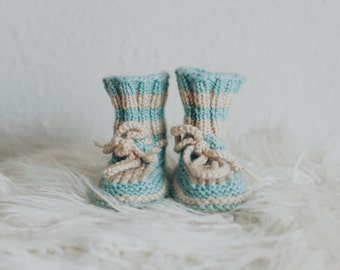 Sky Blue + Cream LIMITED EDITION - True alpaca luxe yarn