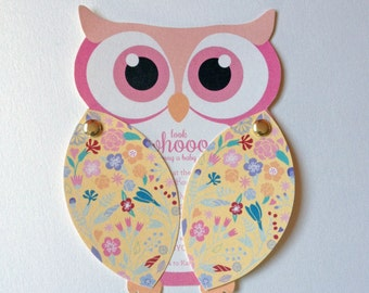 Movable Owl Invitations