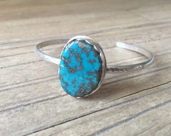 Campitos Turquoise & Sterling Silver Cuff Bracelet