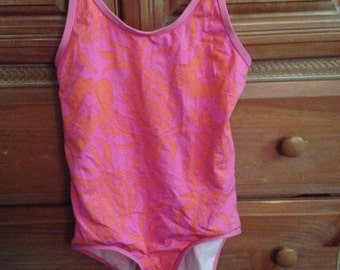 Lilly Pulitzer for Girls Pink and Orange Pineapple Swimsuit