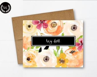 Just Because Card, Greeting Card