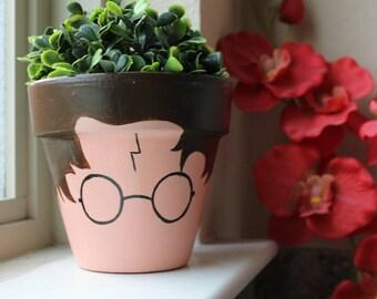 Harry Potter Terra Cotta Flower Pot