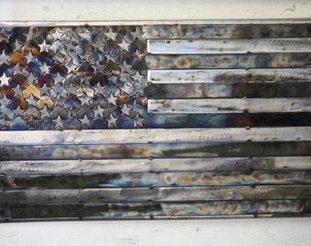 US Flag / American Flag Metal Art