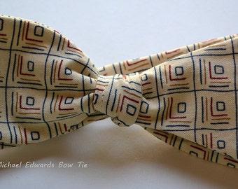 Cream Bow Tie, Mens Bow Tie, Self Tie Bow Tie, Cream Bow Ties, Mens Bowties, Bowties for Men, Gifts for Men, Bow Ties for Men, Bow Ties, Tie