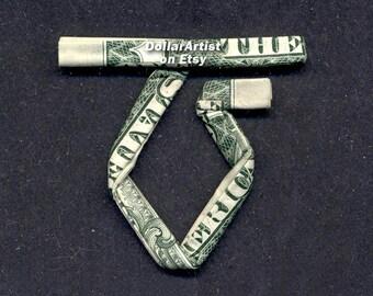 TWISTED SISTER Logo Money Origami - Dollar Bill Cash