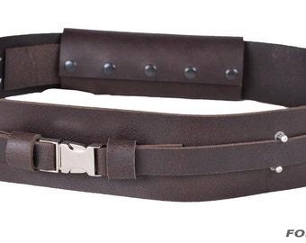 Leather Jedi belt
