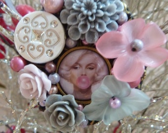 Pendant charms Star Glamour Maryline Monroe