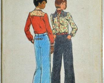 Uncut 1970s Butterick Vintage Sewing Pattern 3869, Size 9/10