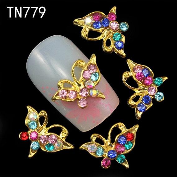 Nail Charm Nail Jewelry Nail Art Charms Butterfly Nail Art Maxicub