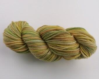 "Handdyed Yarn - Merino Wool - Filato tinto a mano - Lana Merino - ""AGRUMANCE"""