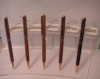 Australian Slimline Twist Pens