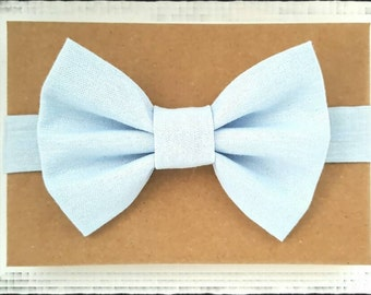 Light Blue Boy's Bow Tie