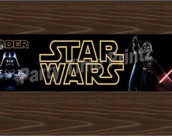 Darth Vader Label