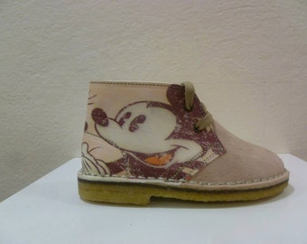 Shoe polacchina-with customized print-for children and adults