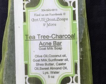 Tea Tree & Charcoal Goat Milk Soap