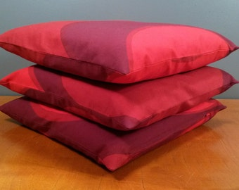 "Set of three pillow covers - ""Kaivo"" - Marimekko - size 16x16"" / 40x40cm (P1)"
