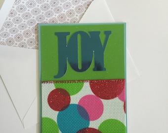 Christmas Card-Joy Set of 4