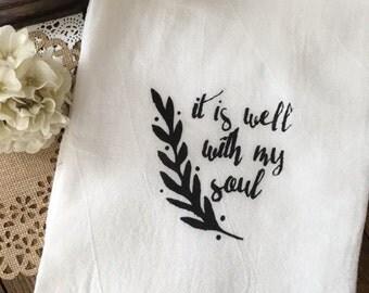 It is Well Tea Towel