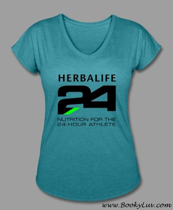 herbalife 24 t shirt wit large center logo by bookyluv on etsy