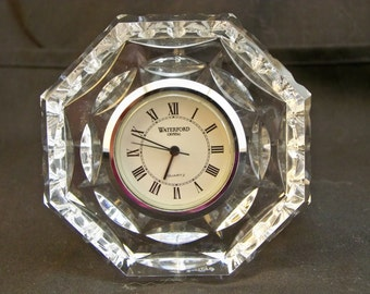 Waterford Crystal Small Desk Clock