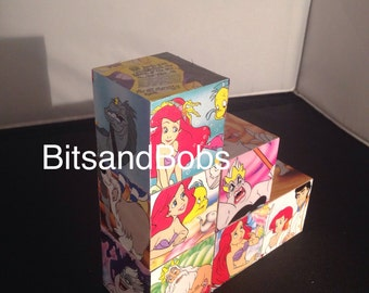 The little mermaid nursery blocks