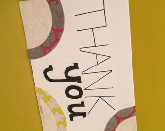 Thank You Card - Abstract