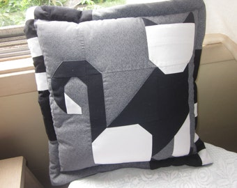 Lily Cat Quilted Cushion for the cat lover in you.
