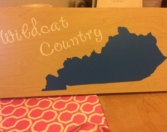 Wildcat country sign