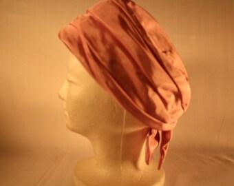 BONWIT TELLER TURBAN 100% Silk Hat