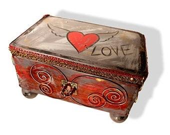 """Treasure chest """"Love"""""""