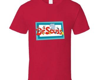 Dr. Seuss Title T Shirt