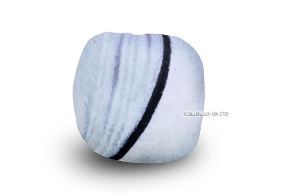 Floor Pillows Stones : Striped Pillow Stone Floor Cushion Pebble Pillow Rock Pillow