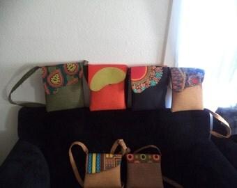 kitenge shoulder bags