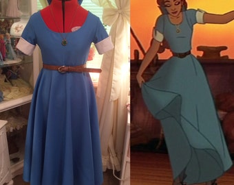 Anastasia blue boat dress