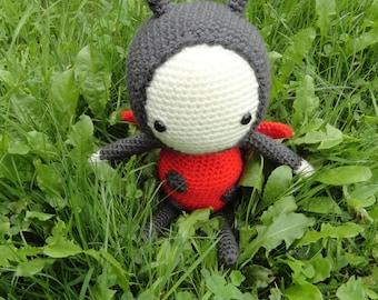 Crochet toy - Lola the Ladybird / Ladybug