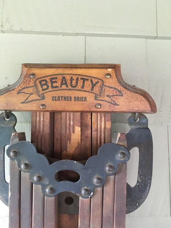 Vintage Beauty Clothes Dryer Antique Clothes Drier Beauty