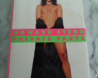 Howard Stern's Private Parts signed by the King of all Media