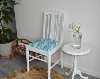 Vintage chair and side table