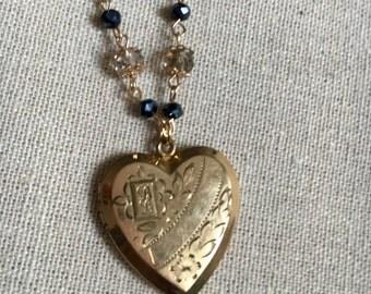 1930s Antique Heart Locket